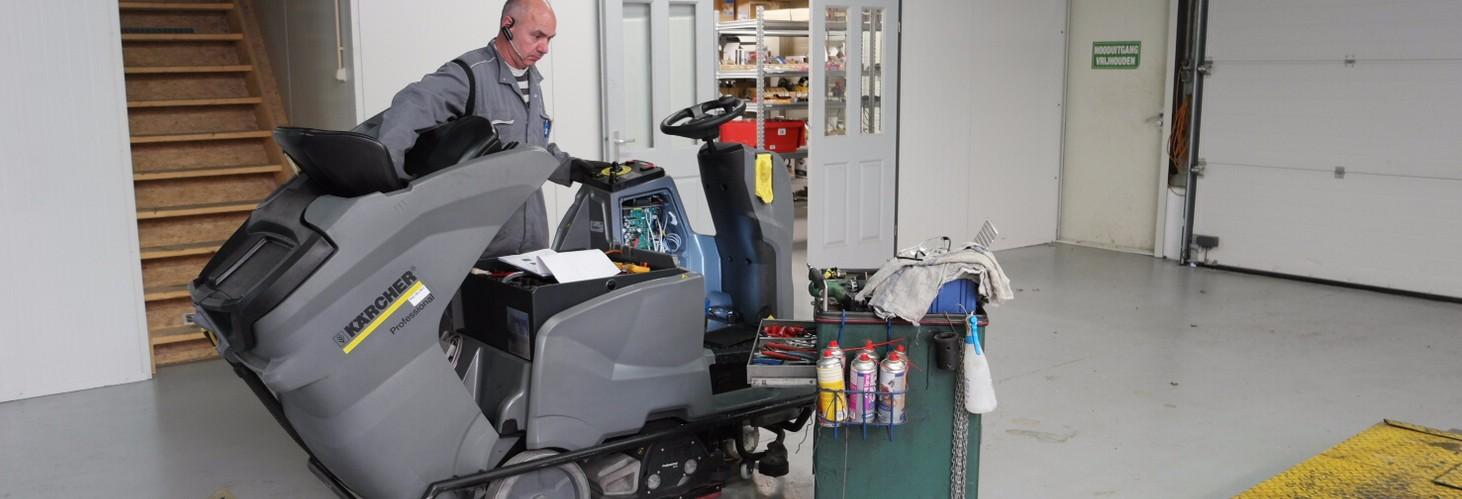 reparatie/ onderhoud karcher dealer professional